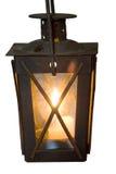 горящий фонарик Стоковое Фото
