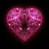 Горя и бить сердце Предпосылка дня ` s Валентайн иллюстрация штока