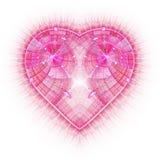 Горя и бить сердце Valentine& x27; предпосылка дня s иллюстрация вектора