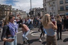 Гордость Лондон 2016 LGBT Стоковые Фотографии RF