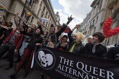 Гордость Лондон 2016 LGBT Стоковая Фотография