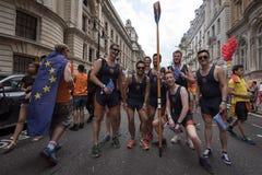 Гордость Лондон 2016 LGBT Стоковые Изображения RF