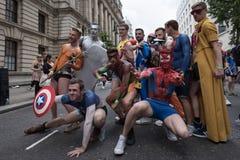Гордость Лондон 2016 LGBT Стоковые Изображения