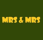 Госпожа & Госпожа Стоковая Фотография RF
