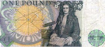 Господин Исаак Ньютон Стоковое Изображение RF