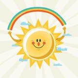 Господин Солнечность Стоковая Фотография
