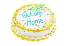 гостеприимсво дома торта праздничное Стоковые Изображения RF