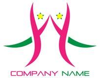 гостеприимсво логоса иллюстрация штока