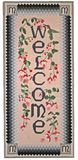 гостеприимсво needlepoint стоковая фотография