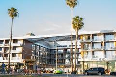 Гостиница берега Санта-Моника Стоковое Изображение RF