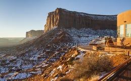 Гостиница взгляда на долине памятника стоковые изображения