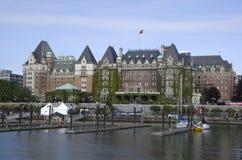 Гостиница Виктория ДО РОЖДЕСТВА ХРИСТОВА Канада императрицы Fairmont стоковая фотография