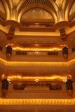 Гостиница дворца эмиратов, Абу-Даби Стоковая Фотография RF