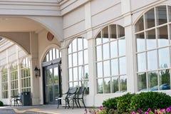 гостиница входа передняя Стоковое Изображение
