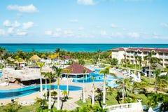 Гостиница в Варадеро, курортах Куба стоковые изображения