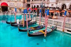 Гостиница гондолы венецианская в Лас-Вегас стоковое изображение rf