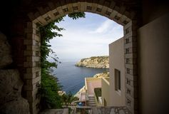 гостиница Греции стоковая фотография rf