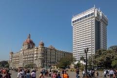 Гостиница дворца Тадж-Махала, Мумбай стоковое изображение rf