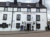 Гостиница Джордж в Inveraray, Шотландии Стоковое Изображение