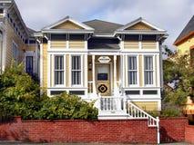 Гостиница дома Картера, викторианские здания, Eureka Калифорния Стоковое фото RF
