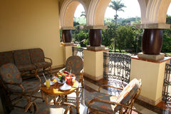 гостиница завтрака Стоковое Изображение