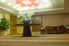 гостиница залы входа самомоднейшая Стоковое Изображение RF