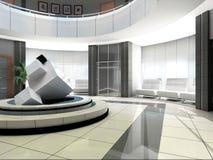 гостиница залы Стоковое фото RF