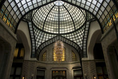 гостиница залы gresham входа budapest Стоковые Фото