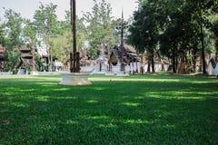 Гостиница и зеленый парк Стоковое Фото