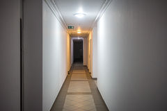 Гостиница или коридор жилого квартала Стоковое Изображение RF