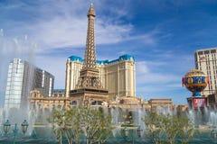 Гостиница и казино Парижа в Лас-Вегас, Неваде Стоковая Фотография RF