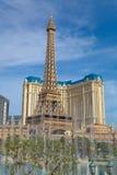 Гостиница и казино Парижа в Лас-Вегас, Неваде Стоковые Фотографии RF