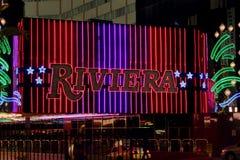 Гостиница и казино Ривьеры Стоковое Изображение RF