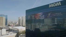 Гостиница и казино MGM в Лас-Вегас - США 2017 видеоматериал