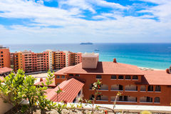 Гостиница и море Стоковые Изображения