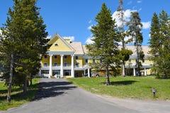 Гостиница Йеллоустон озера Стоковое Изображение
