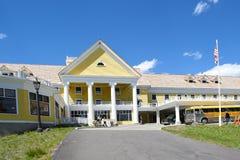Гостиница Йеллоустон озера Стоковая Фотография RF