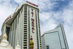 Гостиница & казино Тадж-Махала козыря Стоковое фото RF