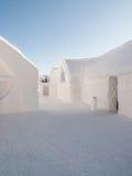 Гостиница Квебек 2009 льда Стоковые Фотографии RF