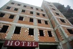 гостиница конструкции Стоковое Изображение