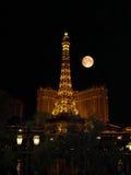 Гостиница Лас-Вегас Невада Парижа на ноче Стоковое Фото