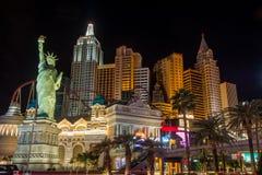 Гостиница Лас-Вегас Нью-Йорка Нью-Йорка стоковая фотография rf