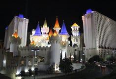Гостиница Лас-Вегас Excalibur Стоковое Изображение RF