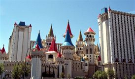 Гостиница 2 Лас-Вегас Excalibur Стоковое Фото