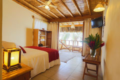 Гостиница Лос Corales, Mancora, Перу Стоковая Фотография RF