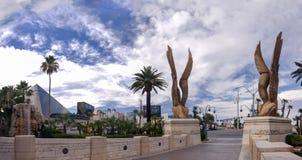 Гостиница Луксора в Лас-Вегас Стоковая Фотография RF
