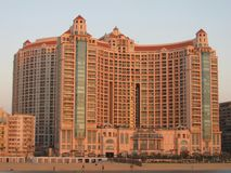 Гостиница & мол Сан Stefano стоковая фотография rf