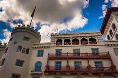 Гостиница Моники Касы, в Августине Блаженном, Флорида Стоковое Изображение