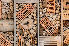 Гостиница насекомого стоковое фото