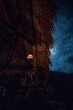 Гостиница на реке Kwai к ноча Стоковые Фото